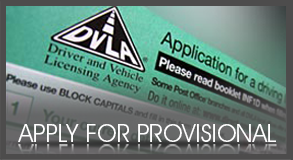 Apply for provisional